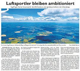 Luftsportler bleiben ambitioniert – Hersbrucker Zeitung vom 13.06.2020
