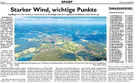 Starker Wind, wichtige Punkte