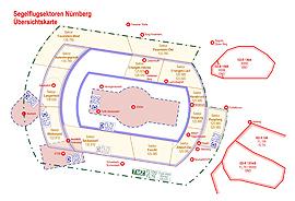 Die Sektorenregelungen im Raum Nürnberg bleiben in der Saison 2021 unverändert.